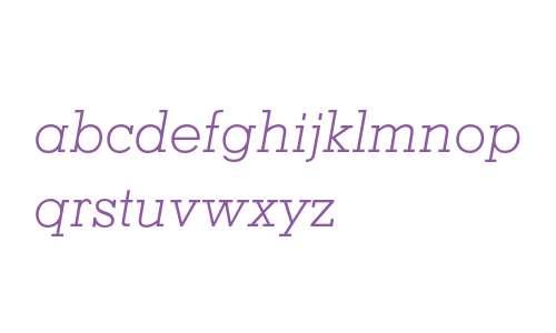 Memphis Light Italic