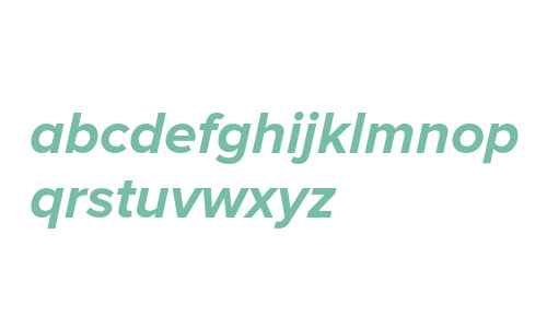 Proxima Nova Bold Italic