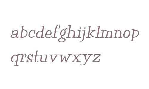 Happy W01 Italic