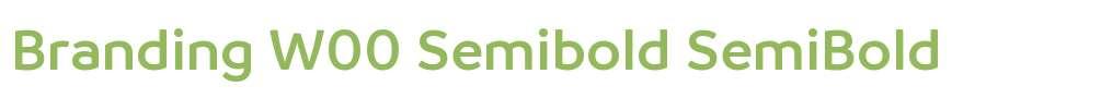 Branding W00 Semibold