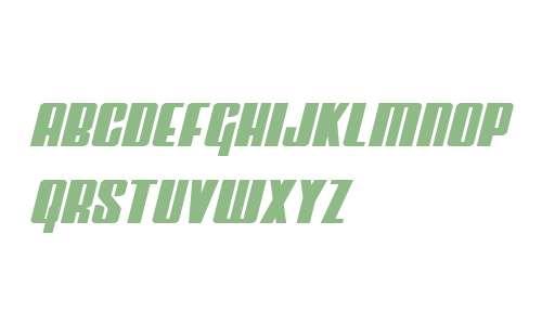 Vindicator Semi-Italic