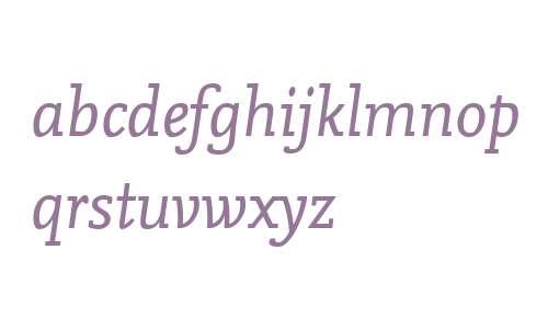 NexusMixWeb W03 Italic