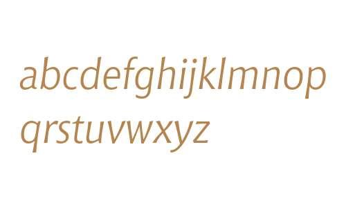 Bitstream Chianti Italic OSF