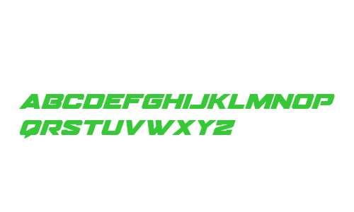 Bomber Escort Super-Italic