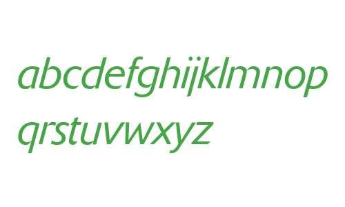 Delta Jaeger (R) Light Italic
