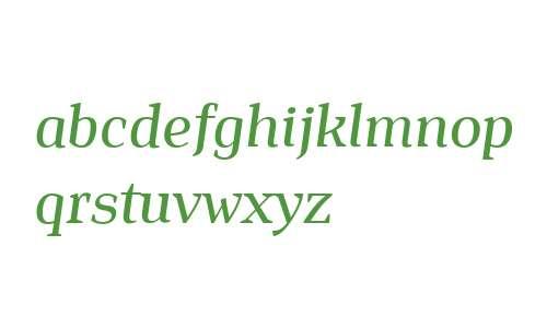 Isle Headline PERSONAL USE Medium Italic
