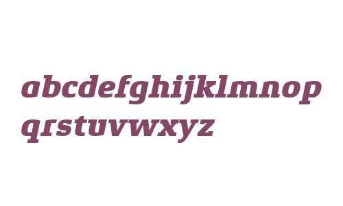 Xenois Slab W04 Heavy Italic