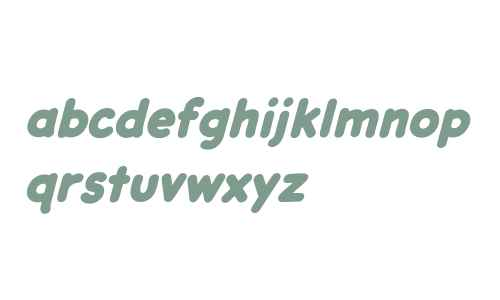 CCDashDecent W00 Heavy Italic