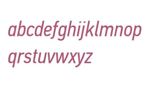 PFDinTextCondPro-Italic