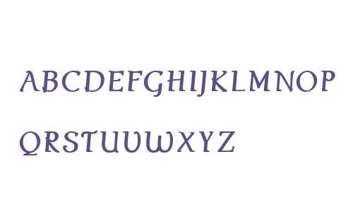 Ablati Small Caps W01 Italic
