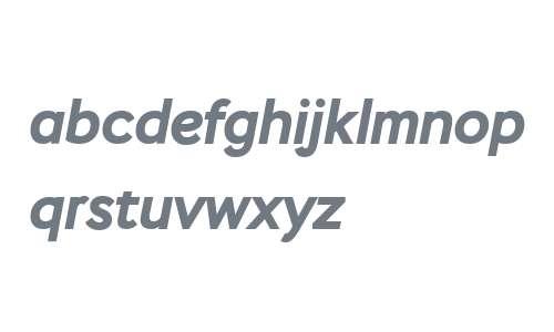 Stem Bold Italic