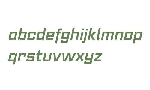 Register W00 Demi Bold Italic