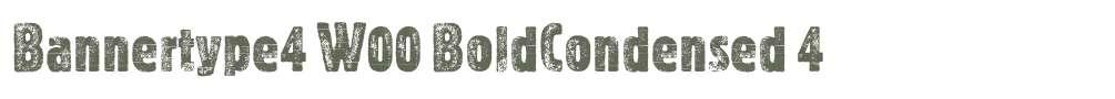 Bannertype4 W00 BoldCondensed