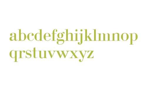 Bodoni Cyrillic