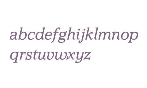 AccoladeTOTLig W03 Italic