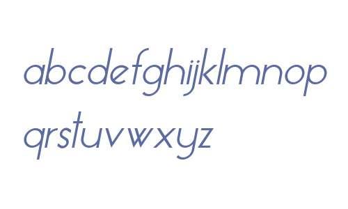 Essence Sans Italic V1