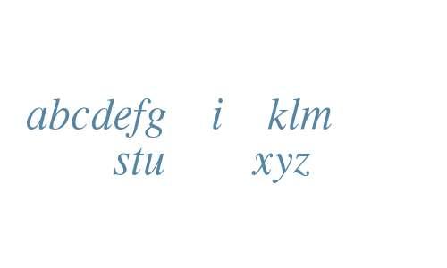 XCLUXD+MMTimesItalic