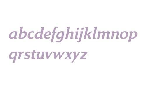 Linex Sweet Std Italic