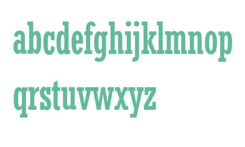 Rockwell* MONOTYPE Condensed