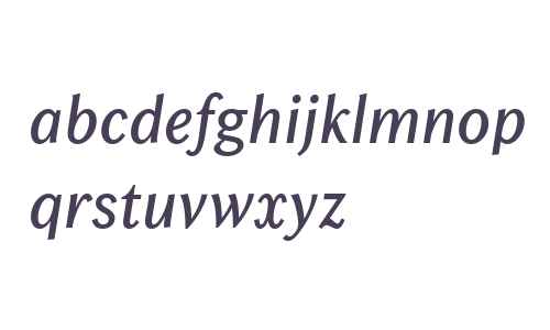 Chong Old Style W04 Italic