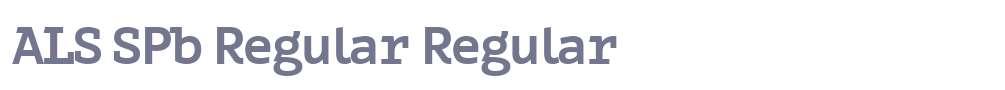 ALS SPb Regular
