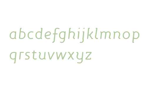 Roice OT W01 Italic