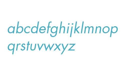 Modern  Oblique