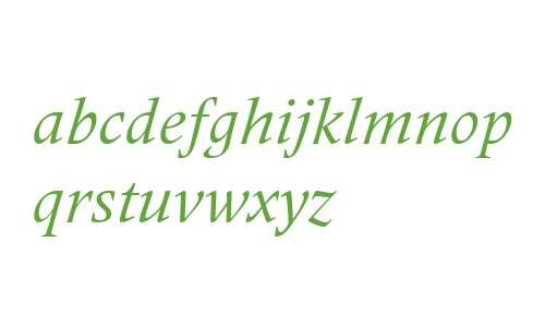 Frutiger Serif LT W04 Italic