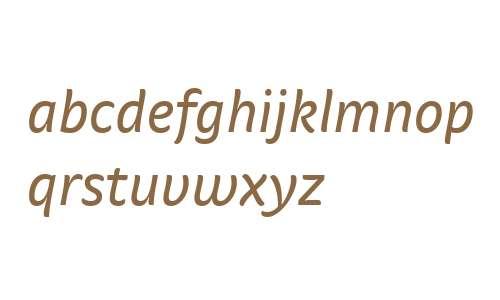 StradaWeb-Italic W03 Regular