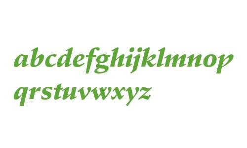 Stempel Schneidler Std Black Italic