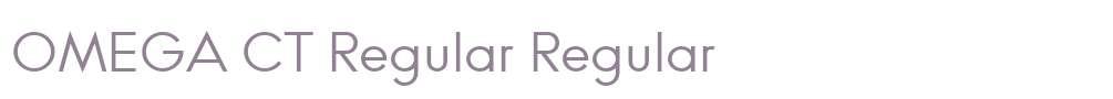 OMEGA CT Regular