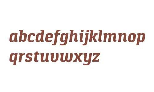 Pancetta Serif Pro Bold Italic