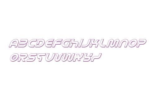 Yukon Tech 3D Italic