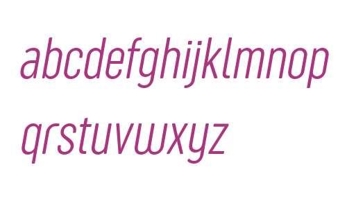 Sugo Pro Classic Trial ExtraLight Italic