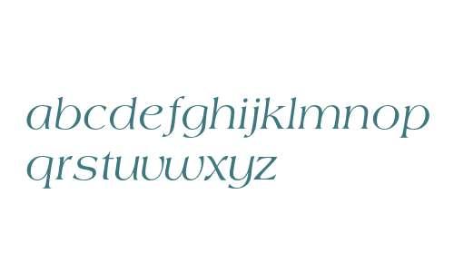 Americana T Regular Italic