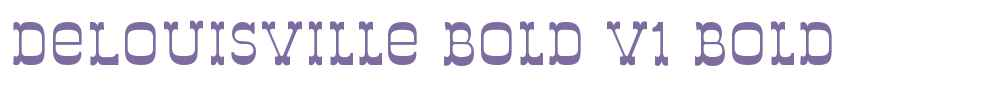 DeLouisville Bold V1