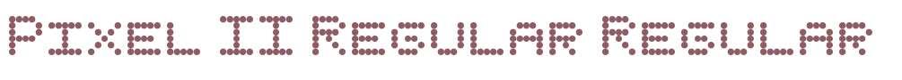 Pixel II Regular
