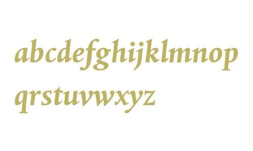 Albertina MT W04 Bold Italic