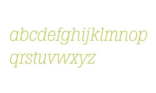 Boton Light Italic