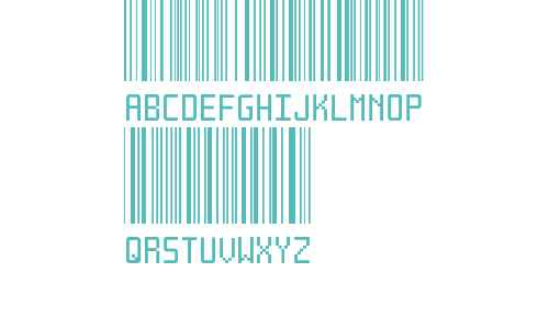 Another barcode font