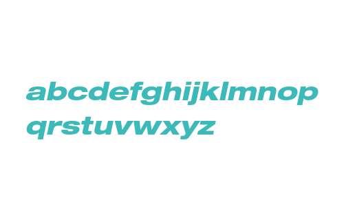 Helvetica Neue LTW0683HvExtObl
