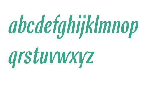 Rossika W01 Regular Italic