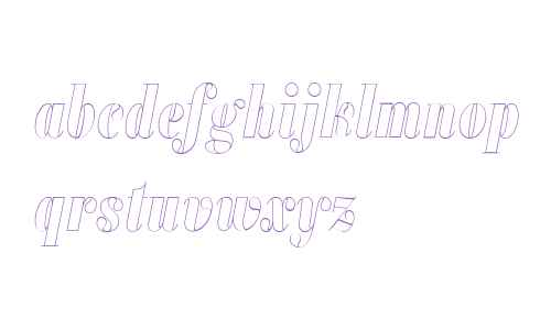 Alias Didot Outline W00 Blk It