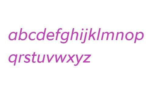 Equip W04 Italic