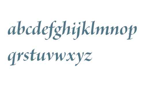 Brioso Pro Bold Italic Display