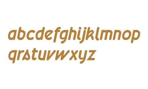 Wevli Bold Italic