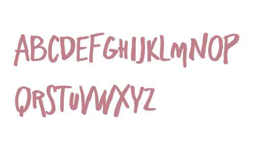 Freehand Blockletter Bold