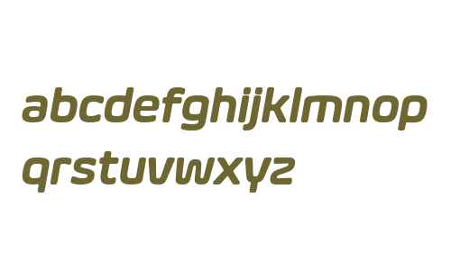 Eurosoft W03 Semibold Italic