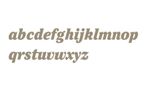 ITC Cheltenham Ultra Condensed Italic