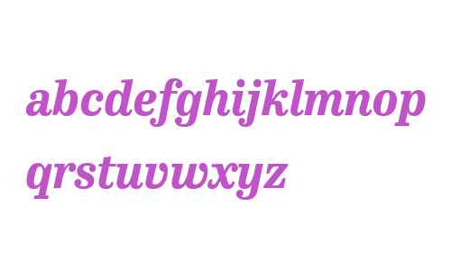 Hertz Web W03 Extrabold Italic